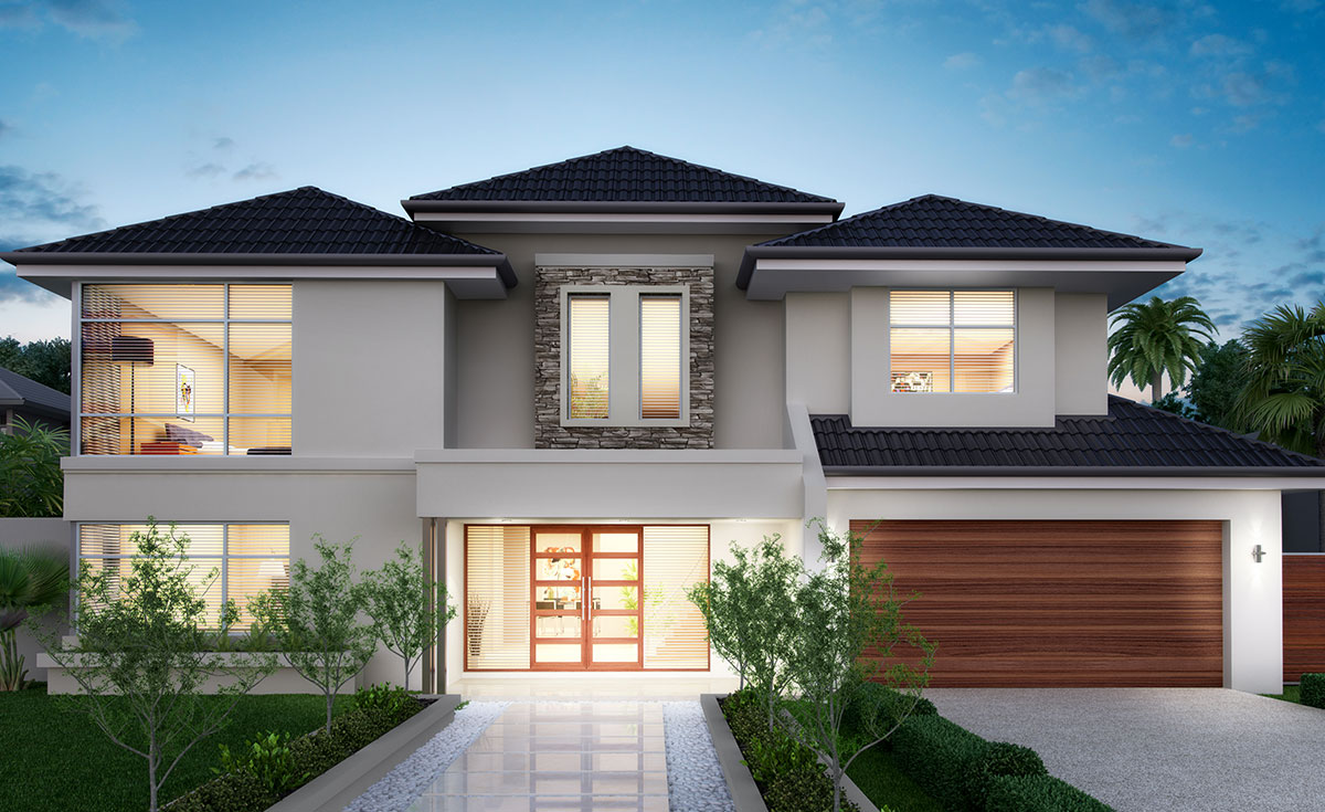 Grandwood homes custom home builders perth 2 storey for Home designs perth