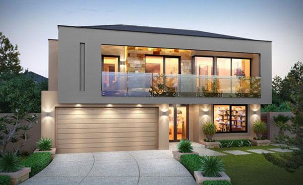 Grandwood homes custom home builders perth 2 storey for Modern upstairs house plans